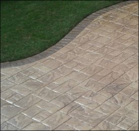 All Driveways Stratford upon Avon patio stamped imprinted concrete patio