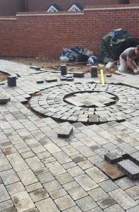 Block paving patio by All Driveways Stratford upon Avon