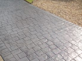 Imprinted concrete driveway Stratford upon Avon from All Driveways Stratford upon Avon uk